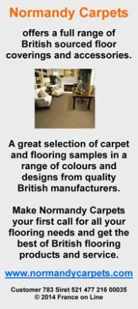 Normandy Carpets,British sourced floor coverings,accessories,carpets,flooring,Abingdon,Kossett,Wilton Royal,Cormar,Mr Tomkinson,UK carpets,English speaking carpet supplier and fitter in France,Brittany