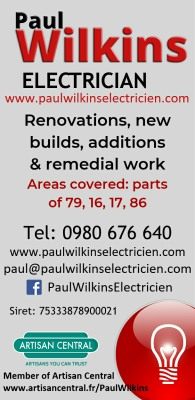 Paul Wilkins Electrician in France