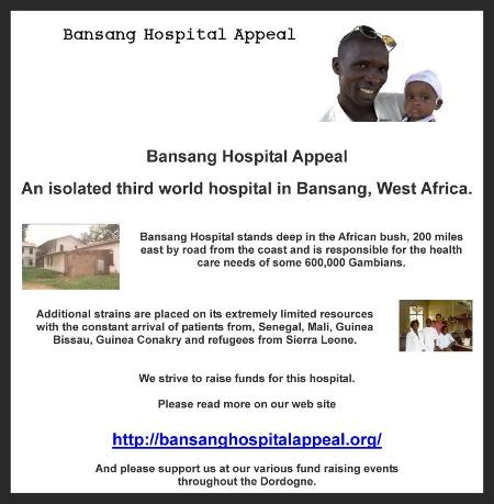 Bansang Hospital Appeal, West Africa, Dordogne based charity