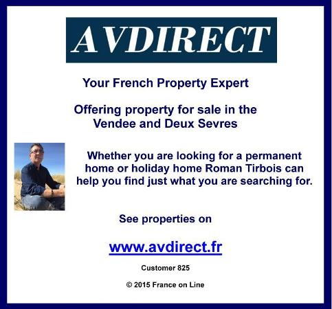 AV Direct,English speaking estate agent,immobilier,property for sale in the Vendee,property for sale in Deux Sevres